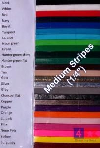 Custom Crop Medium Stripes Logo