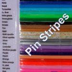Custom Crop Pin Stripes Logo