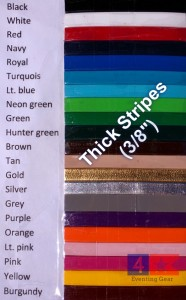 Custom Crop Thick Stripes Logo