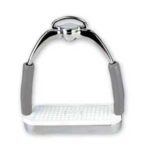 MDC Ultimate Silver stainless stirrup irons
