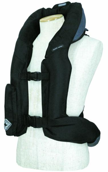 hit air advantage airbag vest in 3 colors adult and child sizes. Black Bedroom Furniture Sets. Home Design Ideas