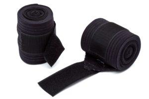 Saratoga Bandages - two black