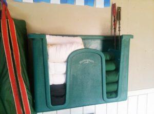 vacs no bow wrap in burlingham bandage rack