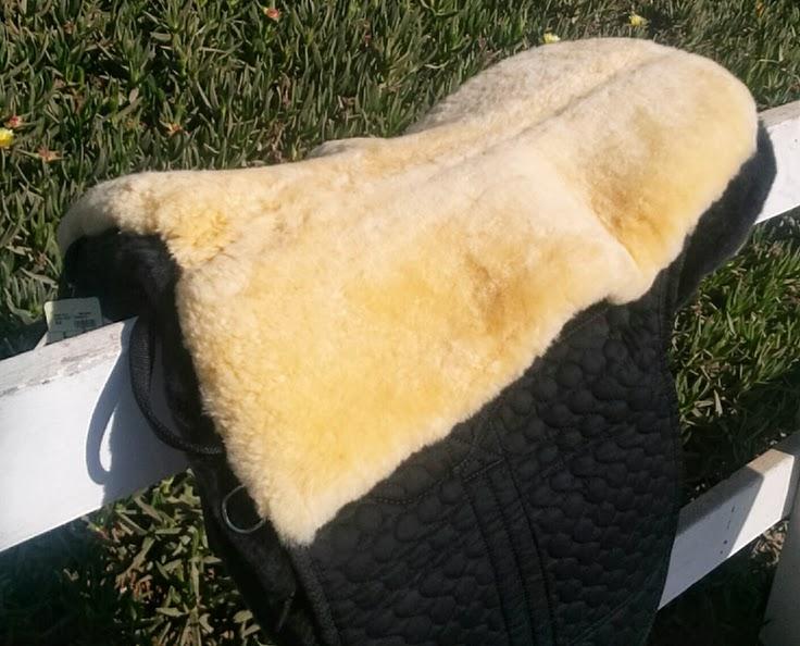 Fleece Bareback Pad With Stirrup Bars