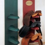 three tier saddle rack