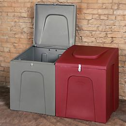 Durable Storage Bin Rust And Rot Proof Water Resistant