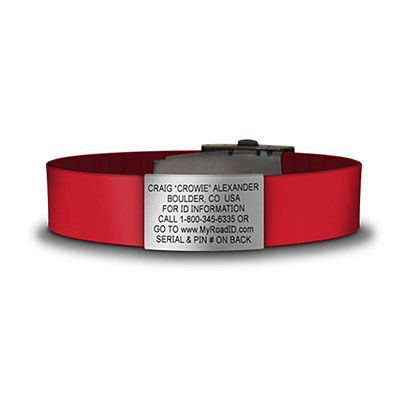 Medical Bracelet For Eventing Red