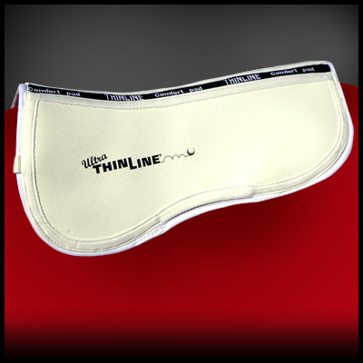 ThinLine Trifecta Cotton Half Pad white