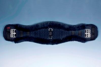 Christ Sheepskin Dressage Girth In Black Or Natural