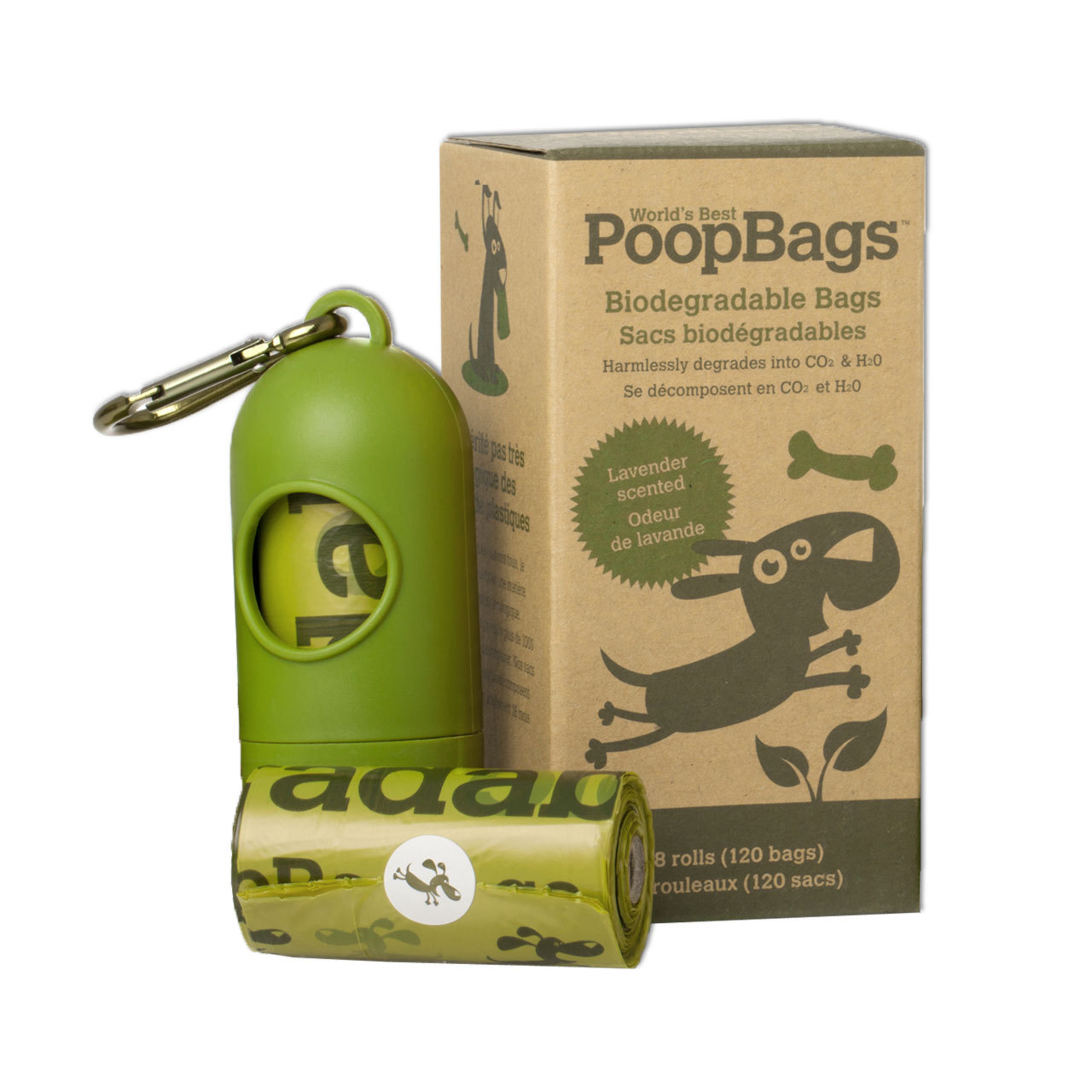 Earth Rated Poop Bags with Refill