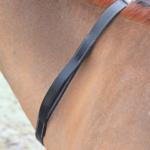 horse neck strap leather