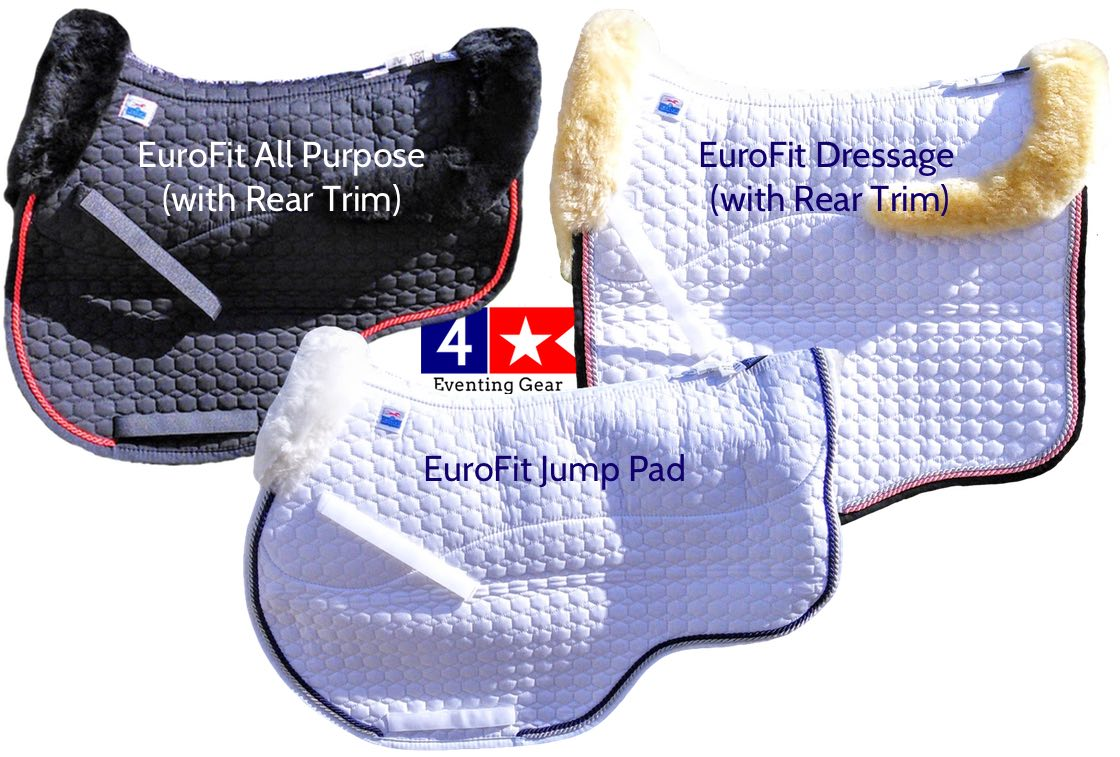 Mattes Eurofit Saddle Pad In Dressage Jumper Cut With