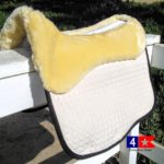 mattes eurofit pad with sheepskin panels
