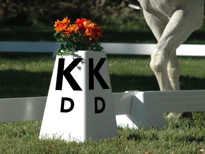Square Dressage Letters For Arena By Burlingham Sports