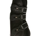 majyk Leather black boot front