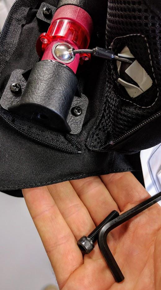 Hit Air Tool Kit For Replacing Cartridges Bolt Screw