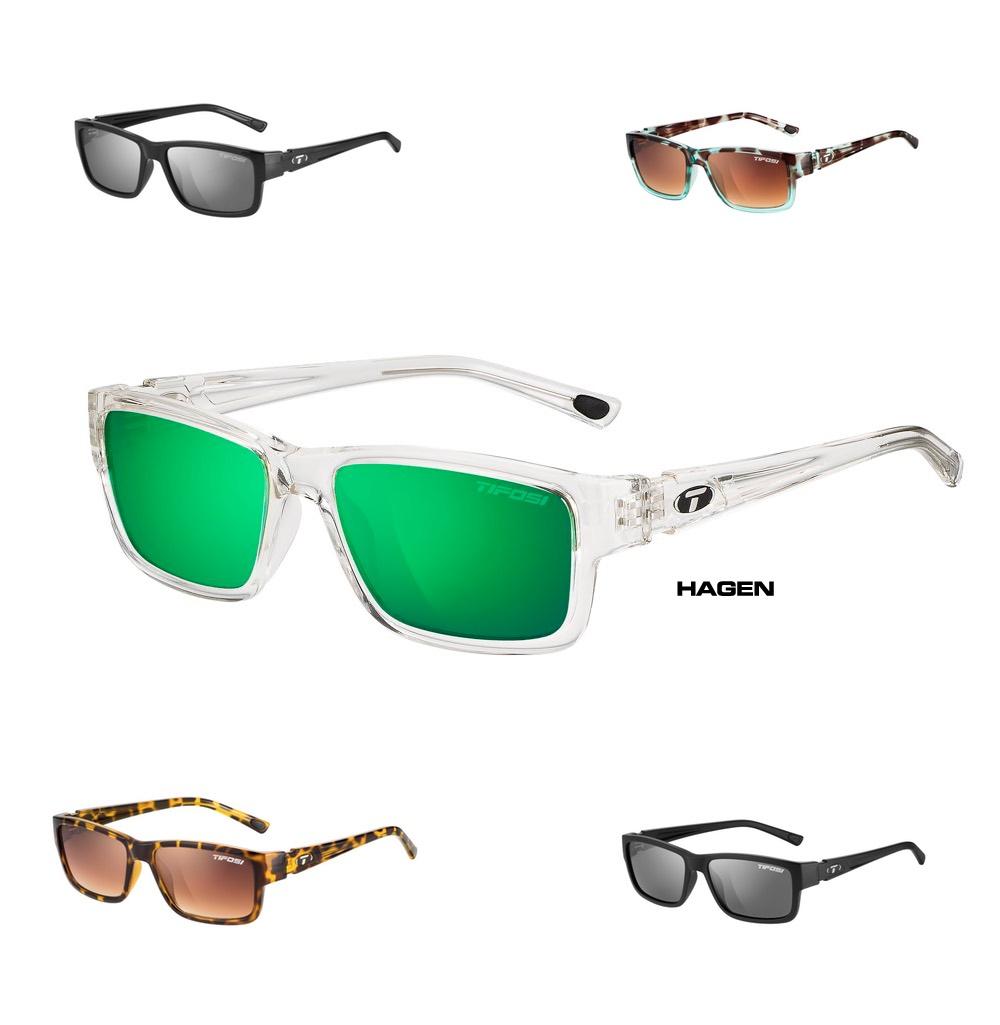 9ed298f495 Tifosi Hagen Full Frame Lifestyle Sunglasses with Polarized Lenses