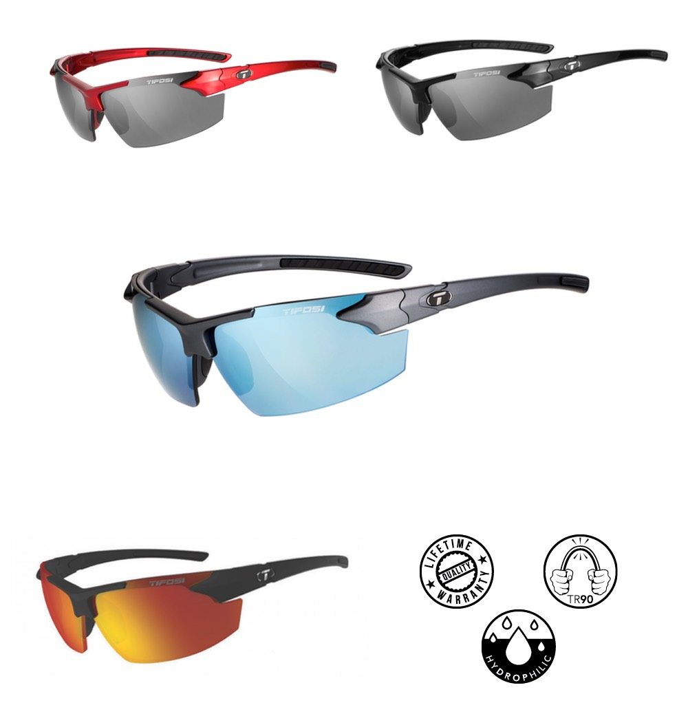 b5dfdbffe1 Tifosi JET FC Full Coverage Sunglasses with Anti Glare Coating