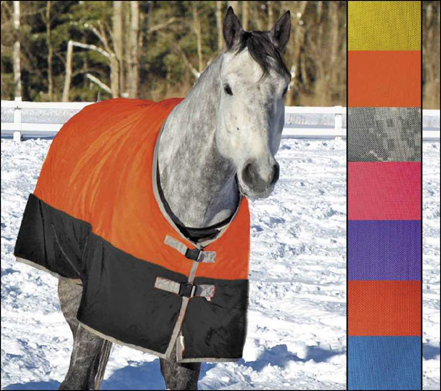 Lightweight Turnout Rug By Saratoga Horseworks 45 60 Degrees