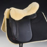 Sheepskin Seat Saver for English Saddles