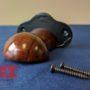 cast iron bridle bracket with hardware