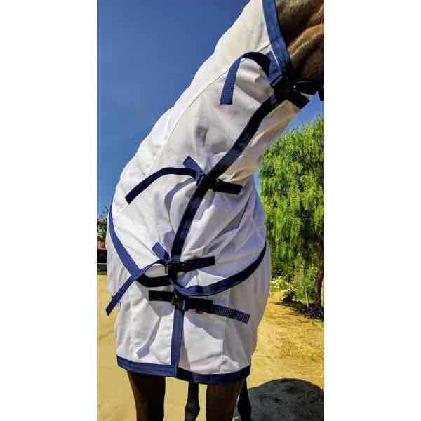 Horse Summer Turnout Sheet With Removable Neck