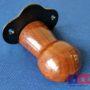 wood and cast iron bridle bracket