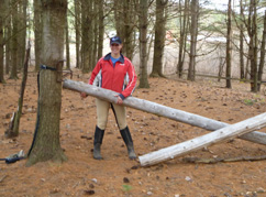 Field Jumps Timber Tie