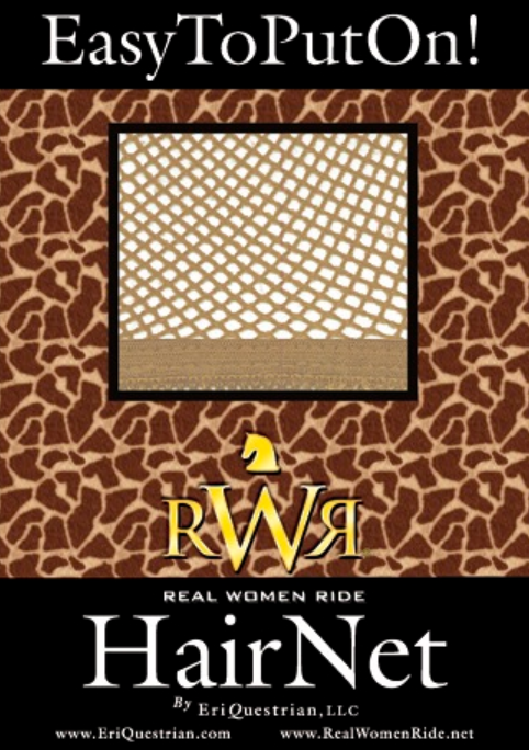 Equestrian Hair Net By Rwr No Knots No Slip No Pins